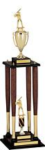 Baseball Trophy - Championship Baseball Bat Trophy