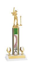 "Baseball Trophy - 12-14"" 2 Eagle Trophy"