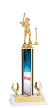 Baseball Trophy - 2 Eagle Trophy