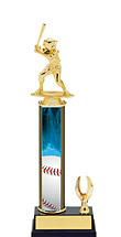 Baseball Trophy - 1 Eagle Trophy