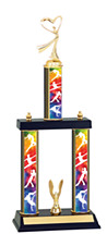 Dance Trophy - 3 Column Dance Trophy