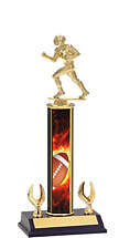 "Football Trophy - 12-14"" 2 Eagle Trophy"