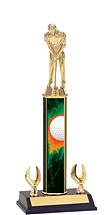 """Golf Trophy - 12-14"""" 2 Eagle Trophy"""