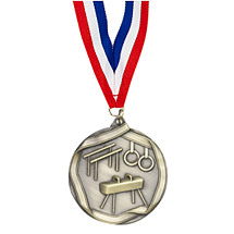 Gold Male Gymnastics Medal
