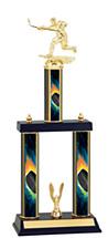 """Hockey Trophy - 18-20"""" Three Column Trophy"""