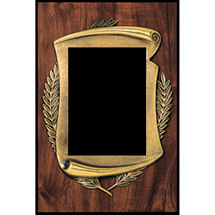 "8 x 10 - 10 x 15"" Bronze Scroll Plaque"