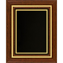 Classic Plaque with Black Felt Border - 11 1/2 x 13 1/2""