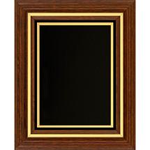 "11 1/2 x 13 1/2"" Classic Plaque with Black Felt Border"