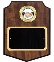 Modern Shield Emblem Plaque