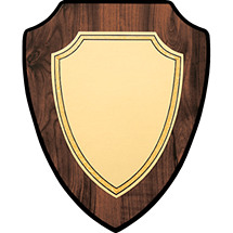 "7 x 9 - 8 x 10"" Classic Shield Plaque"