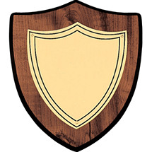 "7 x 8"" Rounded Shield Plaque"