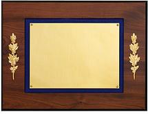 """12 x 9"""" Plaque with Blue Felt Trim"""