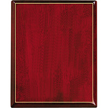 "7 x 9 - 9 x 12"" Ruby Red Plaque"