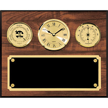 Barometer, Clock, & Thermometer Plaque
