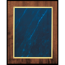 "Medium 8 x 10"" Topaz Blue Classic Plaque"