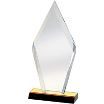 "5 x 10 - 6 x 12"" Modern ""Diamond"" Award"