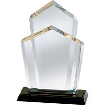 """8 1/2 x 12 1/2"""" Acrylic """"Triad"""" Award"""