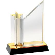 "7 x 7 - 7 x 9"" Acrylic ""Starshine"" Award"