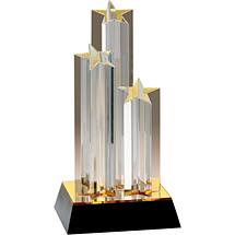 "5 3/4 x 11 3/4"" Acrylic ""Grandeur"" Award"