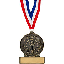 "2 3/4"" All Sports Cast Medal"