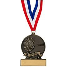 """2 3/4"""" Darts Cast Medal"""