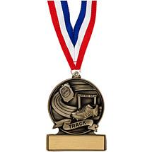 """2 3/4"""" Track Cast Medal"""