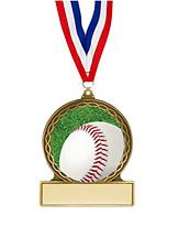"""Baseball Medal - 2 3/4"""""""