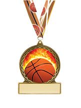 Basketball Medal - Basketball Team Medals