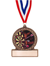 "2 3/4"" Darts Medal of Triumph"