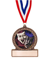 "2 3/4"" Drama Medal of Triumph"