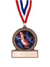 "2 3/4"" Male Gymnastics Medal of Triumph"