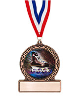 "2 3/4"" Inline Hockey Medal of Triumph"