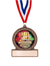 "2 3/4"" Literature Medal of Triumph"