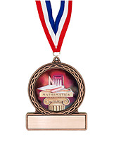 "2 3/4"" Math Medal of Triumph"