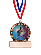 "2 3/4"" MotoCross Medal of Triumph"