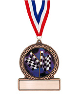 "2 3/4"" Racing Medal of Triumph"