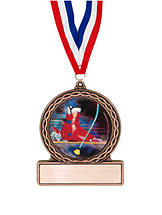 "2 3/4"" Ski Boot Medal of Triumph"