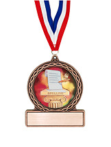 "2 3/4"" Spelling Medal of Triumph"