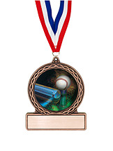 "2 3/4"" T-Ball Medal of Triumph"