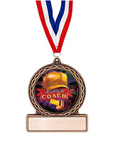 "2 3/4"" Coach Medal of Triumph"