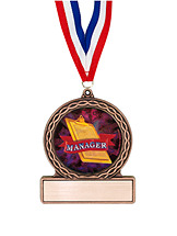 "2 3/4"" Manager Medal of Triumph"