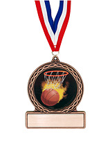 Basketball Medal of Triumph