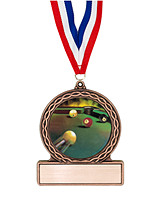 "2 3/4"" Billiards Medal of Triumph"