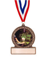 "2 3/4"" Field Hockey Medal of Triumph"