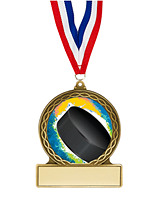 Hockey Medal - 2 3/4""