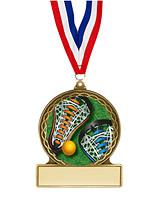 """Lacrosse Medal - 2 3/4"""""""