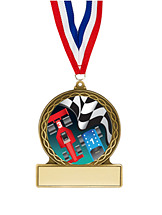 Pinewood Derby Medal - 2 3/4""