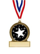 Stars Medal - 2 3/4