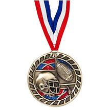"""Football Glitter Medal - 2 1/2"""""""