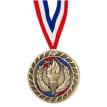 Victory Glitter Medal - 2 1/2""